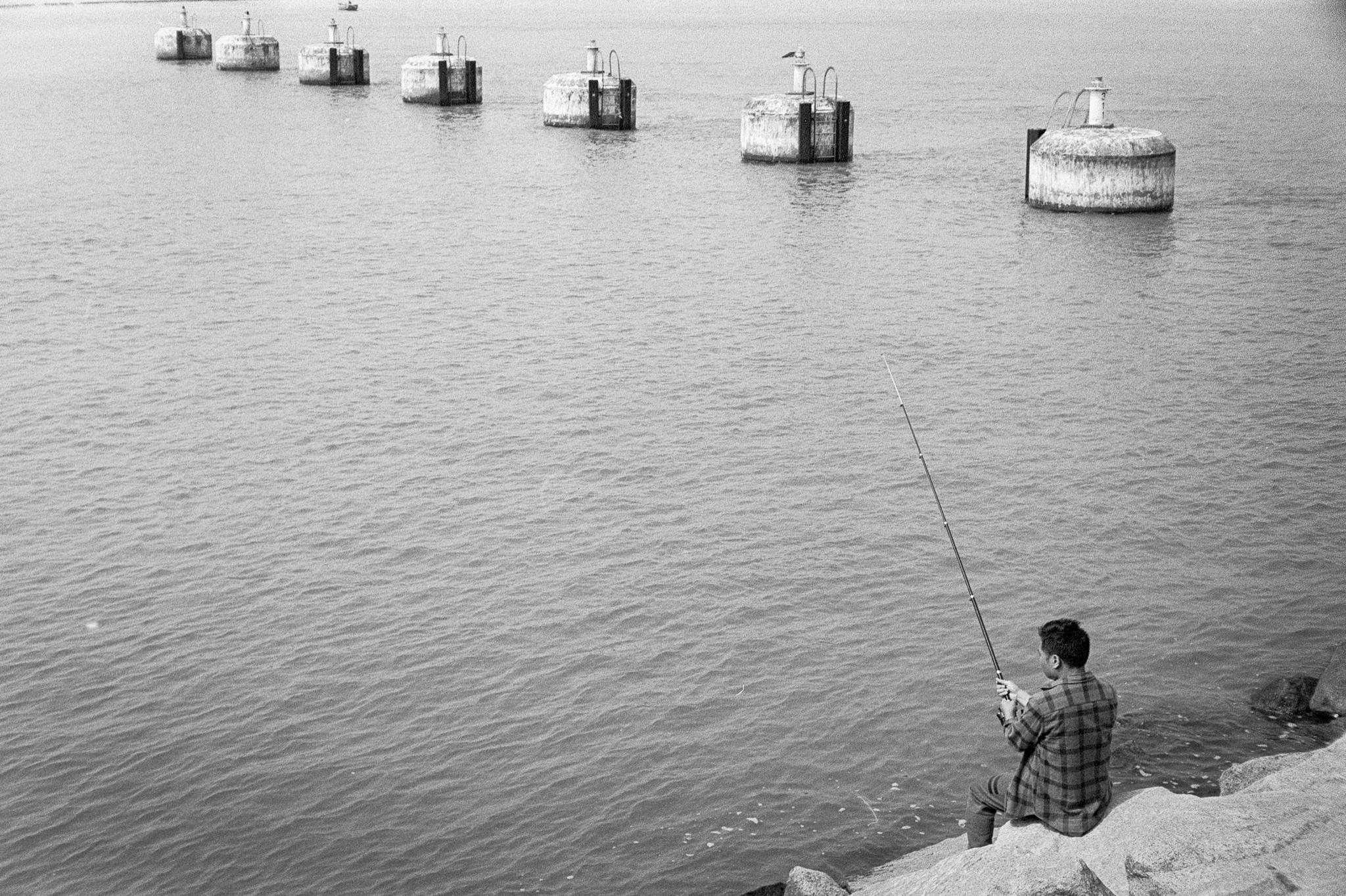 14. Fishing near Tung Chung