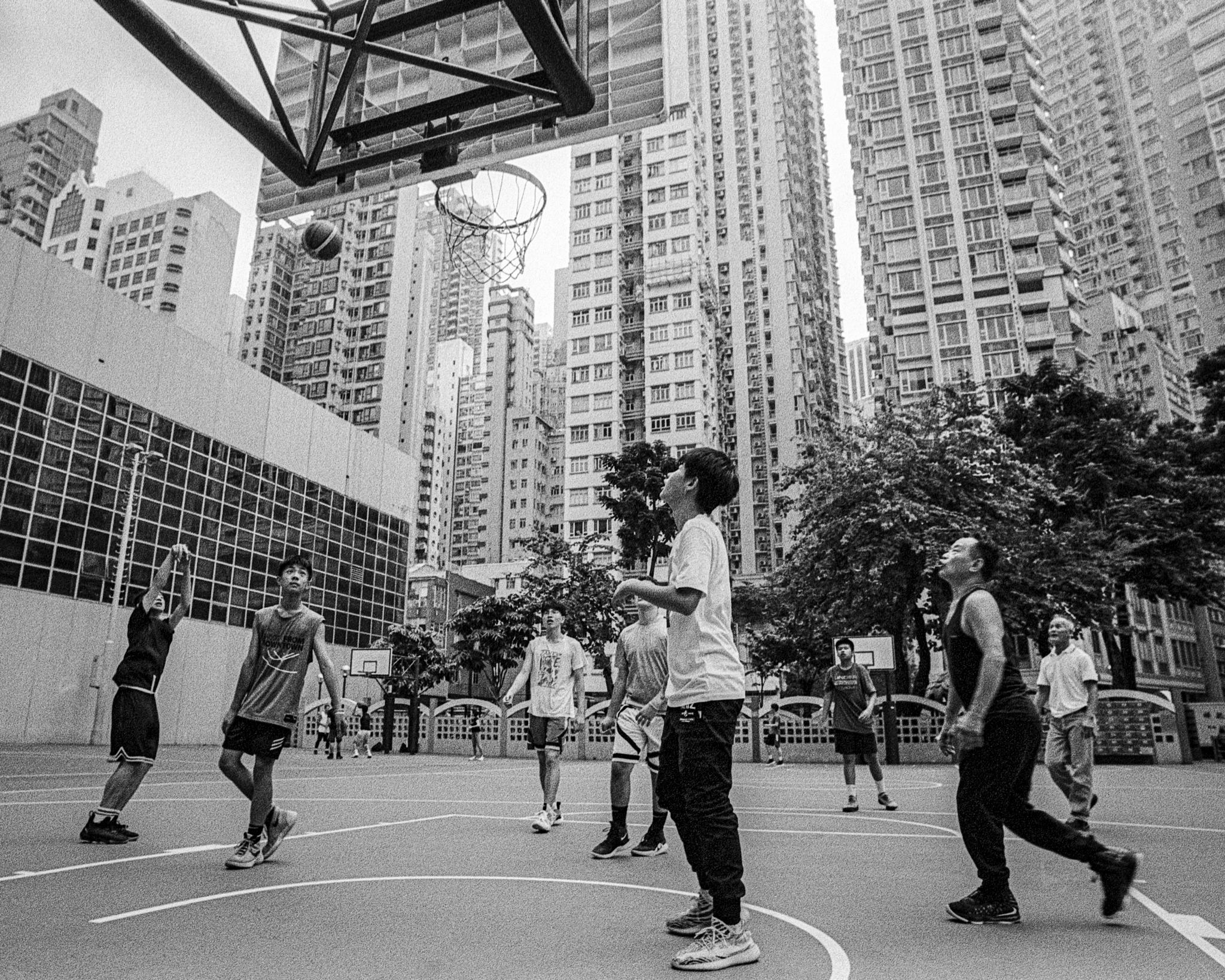 15. Basketball in Wanchai