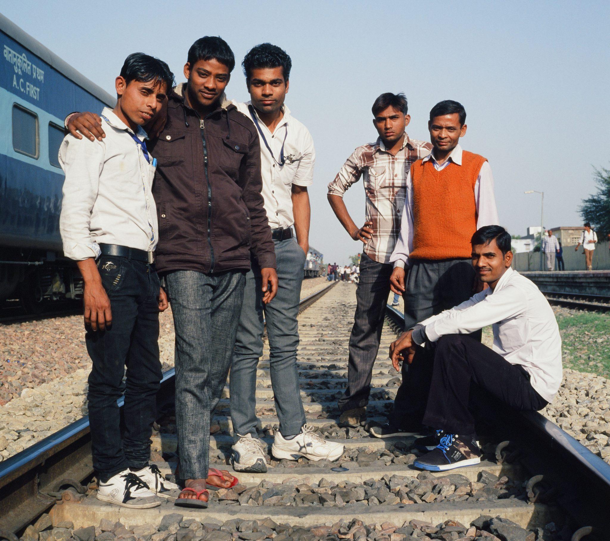 Men on the Tracks