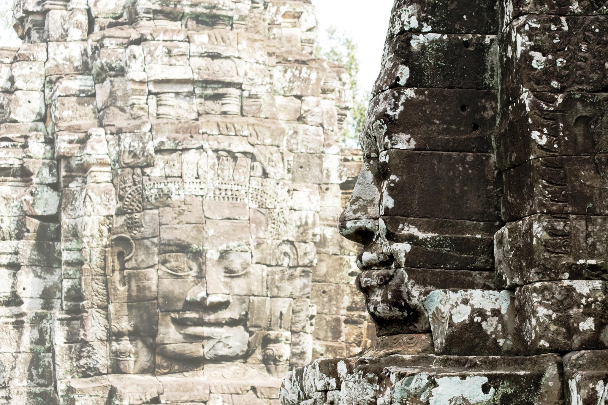 33. Cambodian Faces