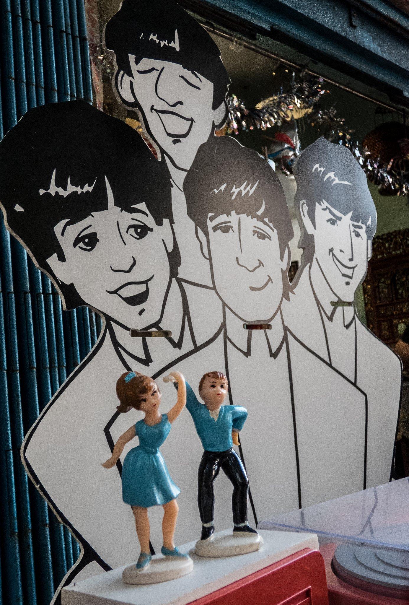 7. Beatles in town