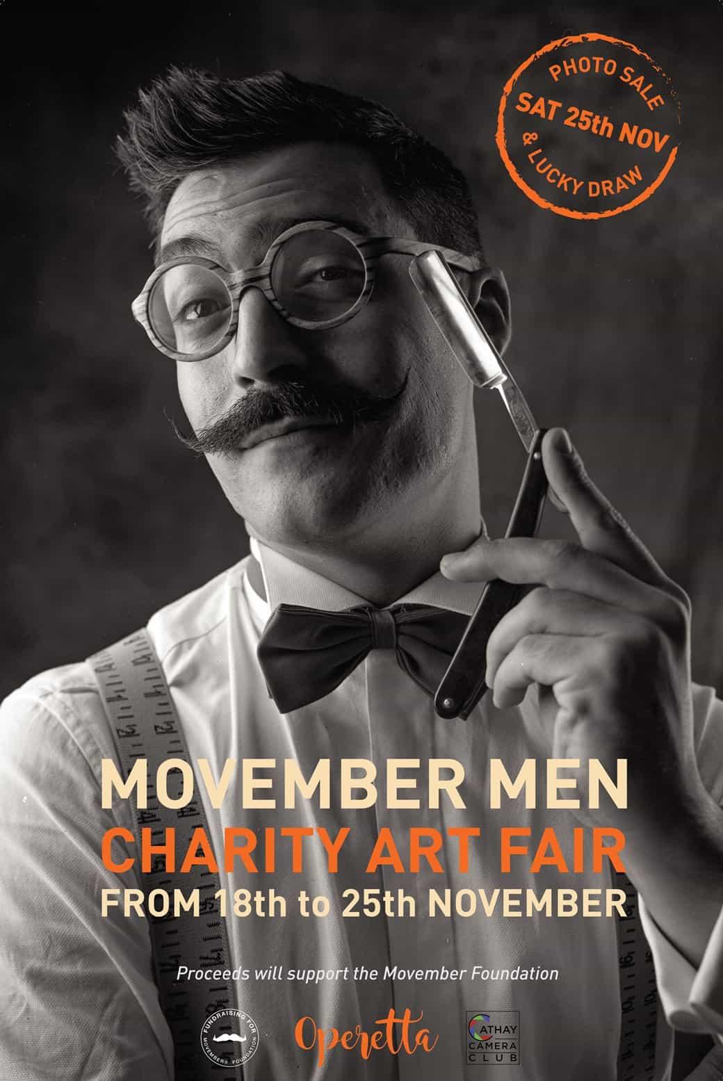 Movember Men Exhibition.